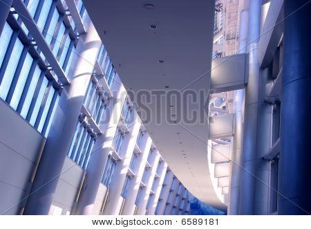 Futuristic Building Interior