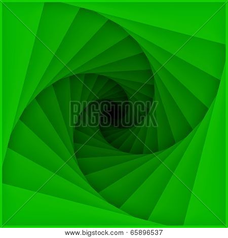 Tunnel blades spiral pattern
