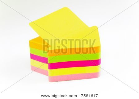 Arrow Shaped Post It