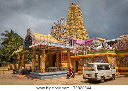 Hindu Temple Matale Sri Muttu Mariyamman