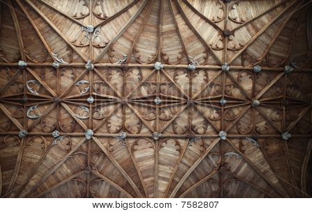 Church Ceiling Fitzalan Chapel England