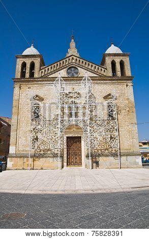 Sanctuary of SS. Maria delle Grazie. Genzano di Lucania.Italy.