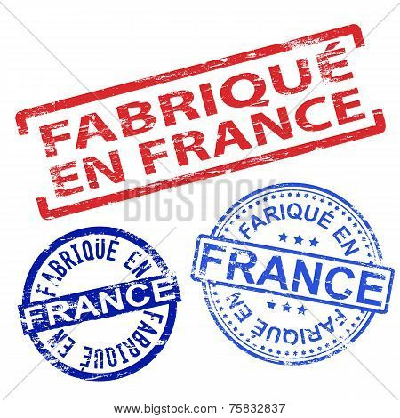 Fabrique En France Rubber Stamps