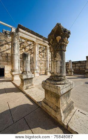 The Synagogue Of Capernaum