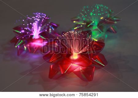 LED Christmas Bows