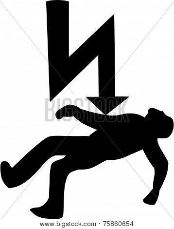 Electric Warning Symbol