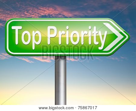 top priority important very high urgency info lost importance crucial information  stamp  or label