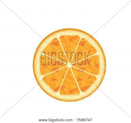 Computer Generated Orange