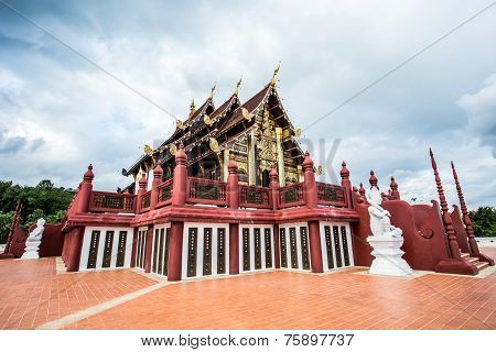 horkumluang in the roya lfloral chiangmai  province Thailand.