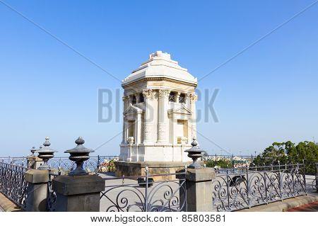 mausoleum for Diego de Pinte, Orotava, Tenerife, Spain