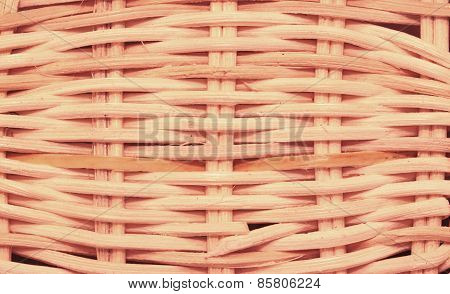 wickerwork basket texture