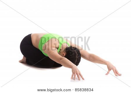 Child's Yoga Pose
