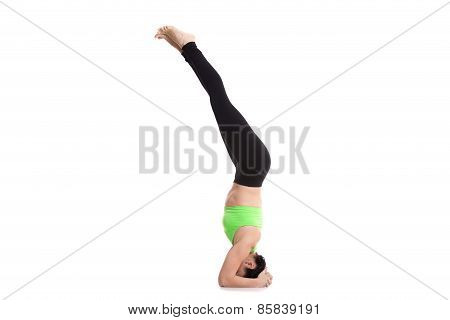 Salamba Sirsasana Yoga Pose