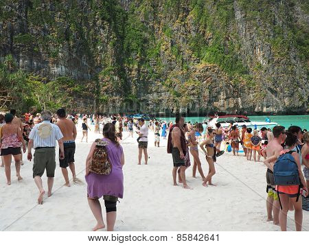 Mass Tourism Beaches Of Thailand