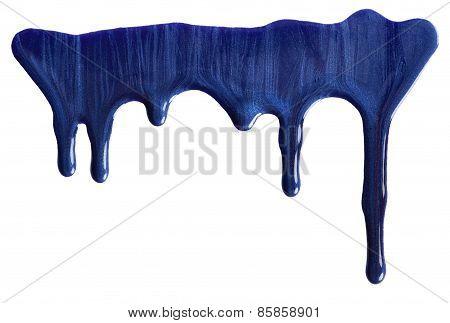Blue Nail Polish