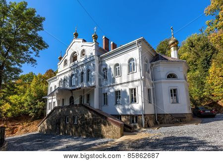 Building For The Brethren Assumption Monastery In Lipetsk