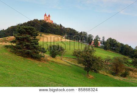 Banska Stiavnica - Calvary, Slovakia