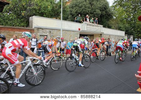 Cyclists at Uci Road World Championships