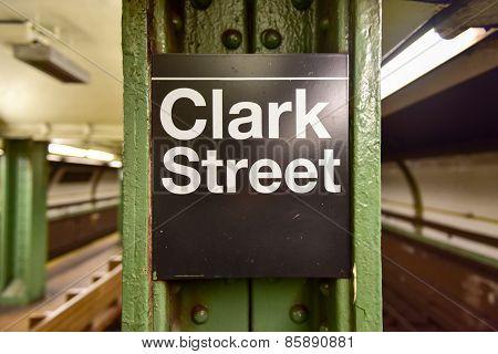 Clark Street Subway Station - Brooklyn, New York