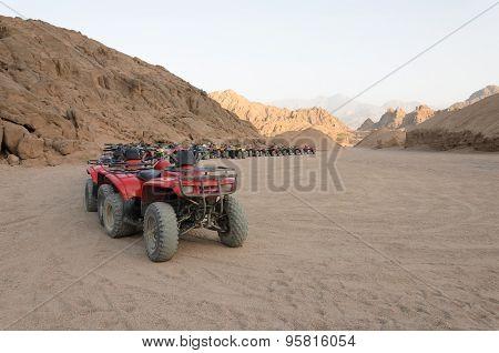 Atv Safaris. Excursions In Egypt