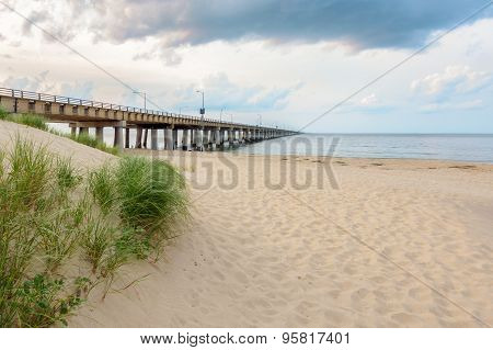 Bridge And Sand