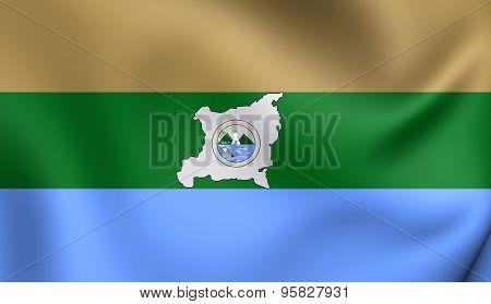 Region Autonoma Del Atlantico Norte Flag, Nicaragua.