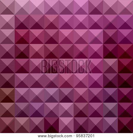 Byzantium Purple Abstract Low Polygon Background