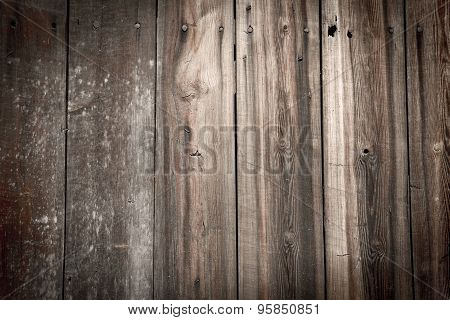 Old Rustic Faded Wooden Background