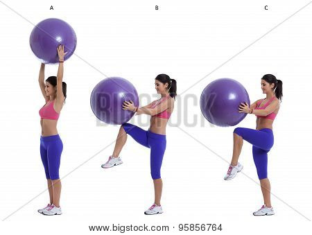 Swiss Ball Exercise For Abs