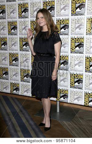 SAN DIEGO - JUL 11:  Jennifer Jason Leigh at the
