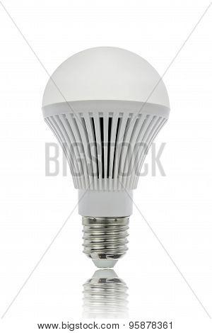 Led Light Bulbs And Shadow.