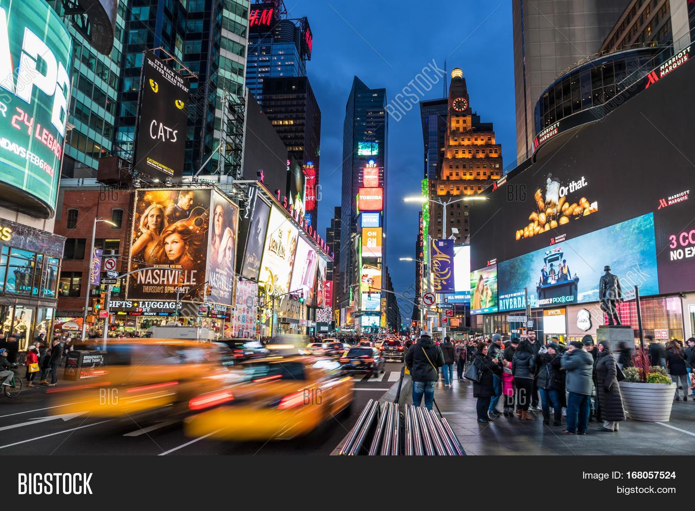 New York Ny Usa Jan Image Photo Free Trial Stock