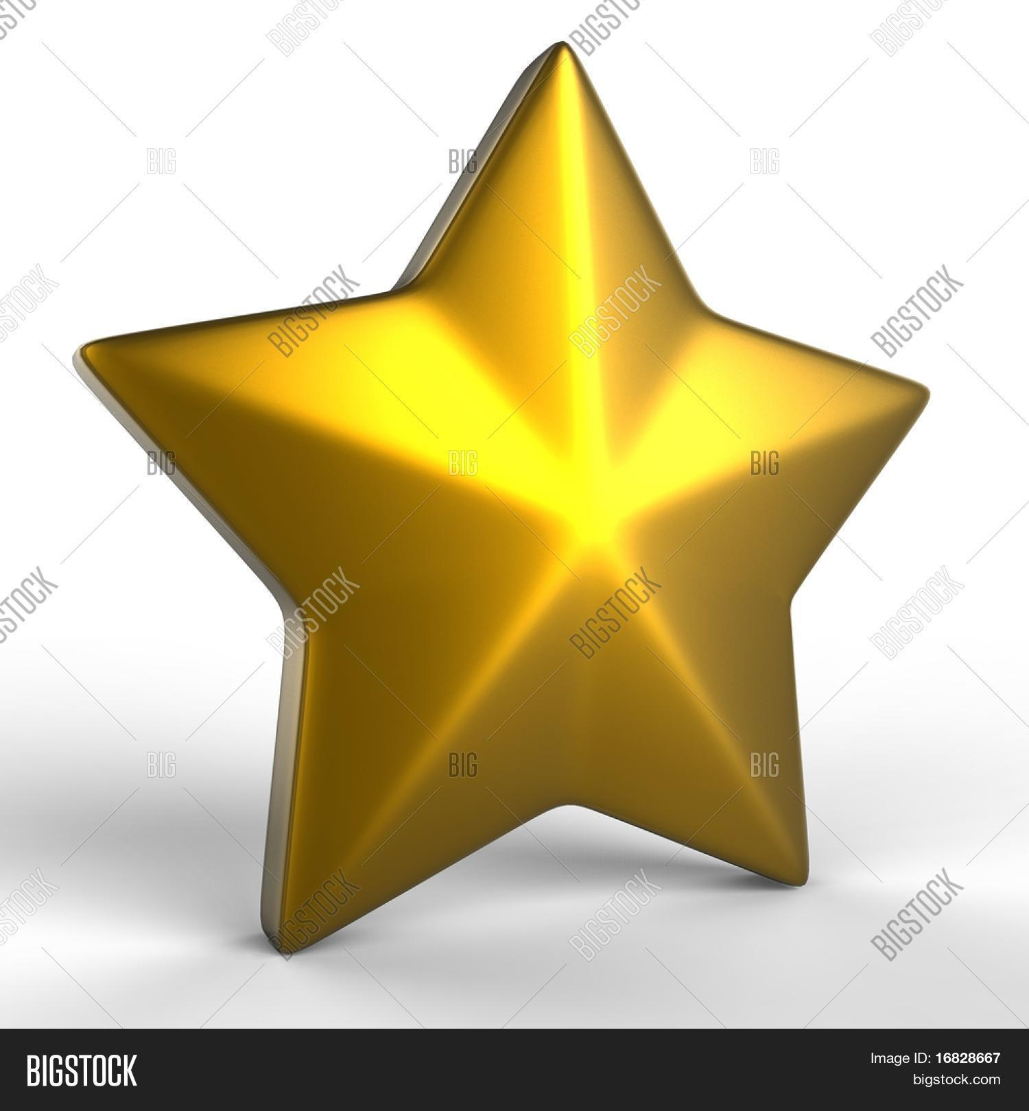 gold star 3d render image photo free trial bigstock