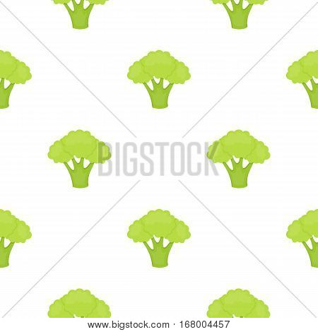 Broccoli icon cartoon. Singe vegetables icon from the eco food cartoon. - stock vector