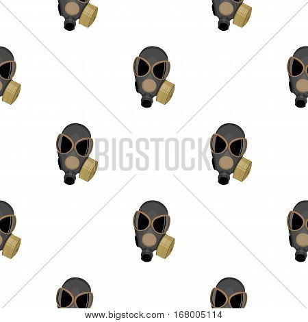 Gas masks icon cartoon. Single weapon icon from the big ammunition, arms cartoon.