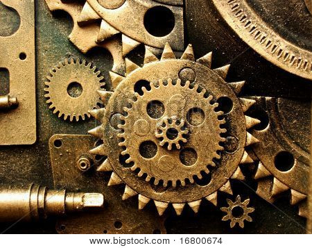 gears from old mechanism
