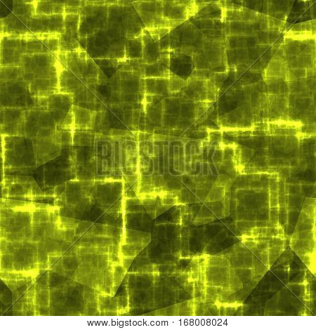 Lime yellow abstract conect cyber seamless texture background