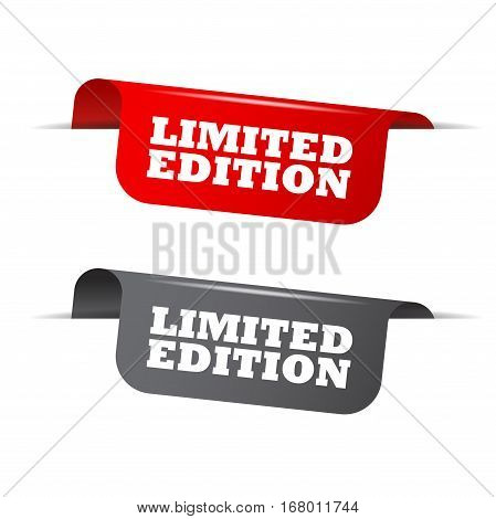This is red and gray vector elements limited edition