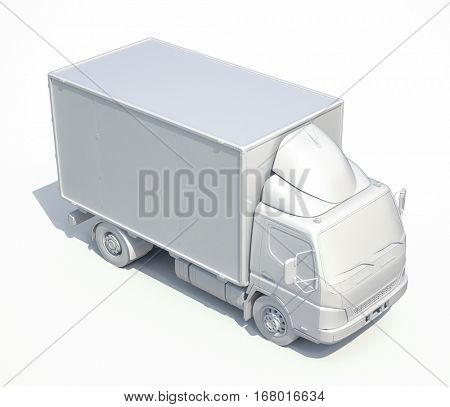 3d Postal Truck, Express, Fast Delivery, 3d White Delivery Truck Icon, Transporting Service, Freight Transportation, Packages Shipment, International Logistics, 3d Postal Truck, 3d Home Delivery Sign