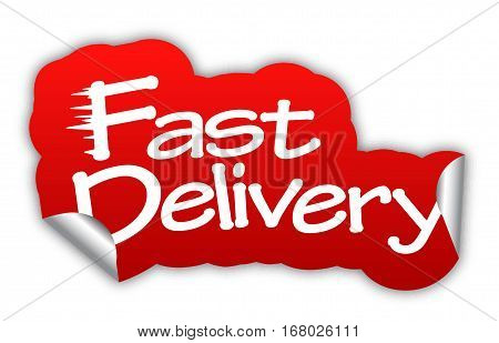 delivery fast delivery sticker fast delivery red sticker fast delivery red vector sticker fast delivery fast delivery eps10 design fast delivery