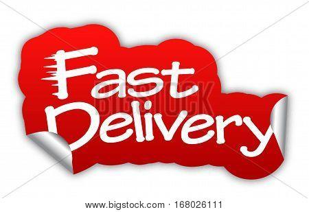 delivery fast delivery sticker fast delivery red sticker fast delivery red vector sticker fast delivery fast delivery eps10 design fast delivery