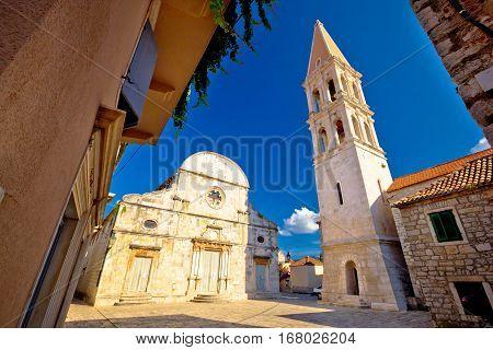 Stari Grad, Island Of Hvar Old Stone Square