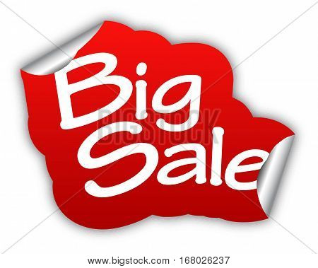 sale big sale sticker big sale red sticker big sale red vector sticker big sale big sale eps10 design big sale sign big sale