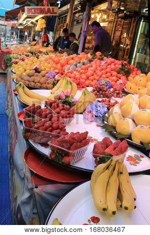 Fruit For Sale In Bursa Market