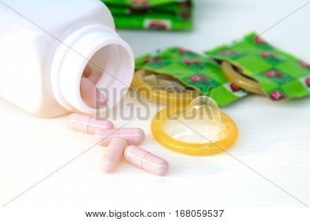 Condom And Medicine