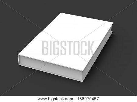 3D Rendering Book Mockup