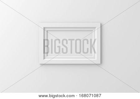 Lateral White Frame