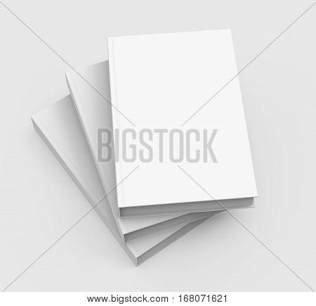 Three Books Piling Up