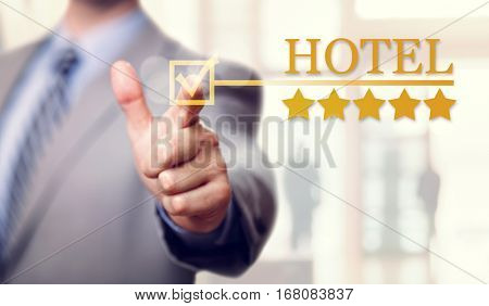 Five stars luxury Hotel service and accommodation