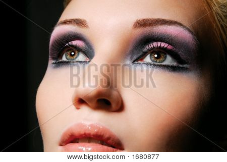 Lovely Girl With Beautiful Eyes.